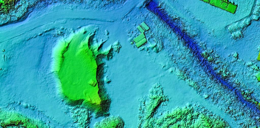 DEM Digital elevation model Medskog