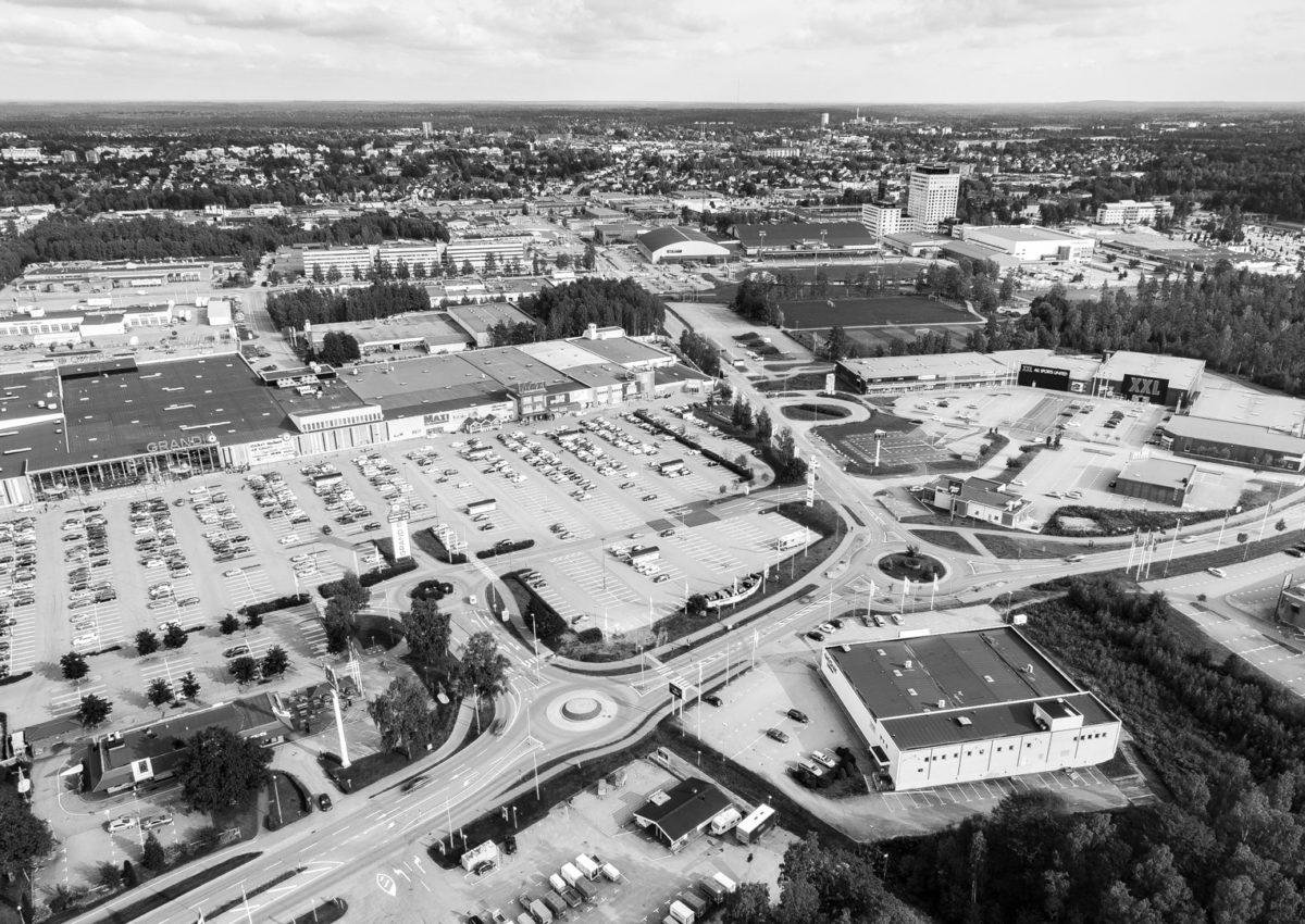 Alma Property Flygfotografering av fastighetsbestånd