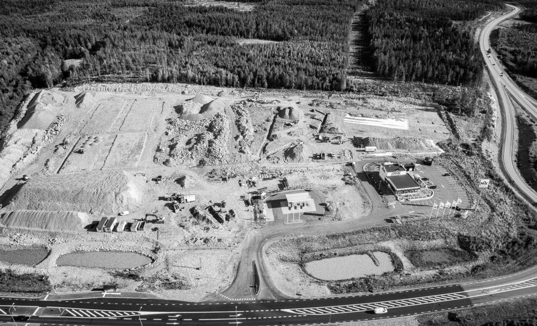 Medskog Hudiksvall Flygfotografering