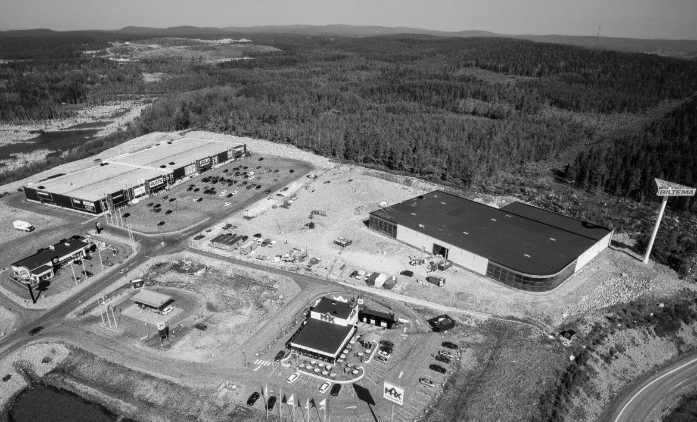 Flygfoto Medskogsområdet Hudiksvall